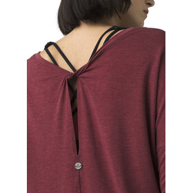Prana Rogue Maillot Manches longues Femme, spiced wine